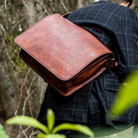 Kodiak Leather Messenger