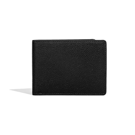 Leather Bi-Fold Wallet // Black