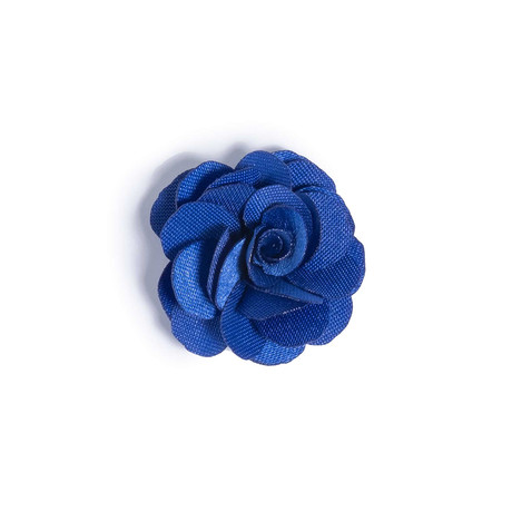 Blue Lapel Flower // 1″