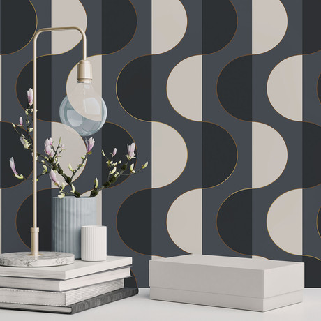 Luna Midnight // Self-Adhesive Wallpaper