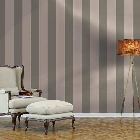 Stripes Grey // Self-Adhesive Wallpaper // Repeel