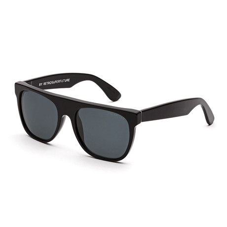 Flat Top // Black Polarized Lens