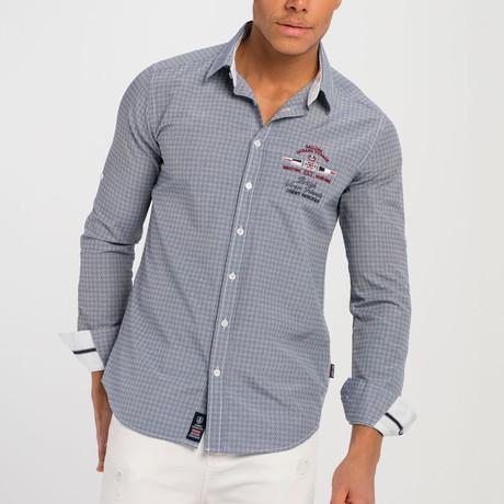 Donn Button-Up Shirt // Blue