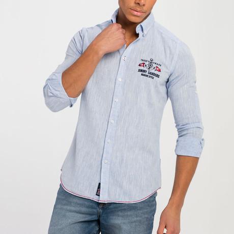 Les Button-Up Shirt // Baby Blue