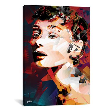"Audrey Hepburn (26""W x 18""H x 0.75""D)"