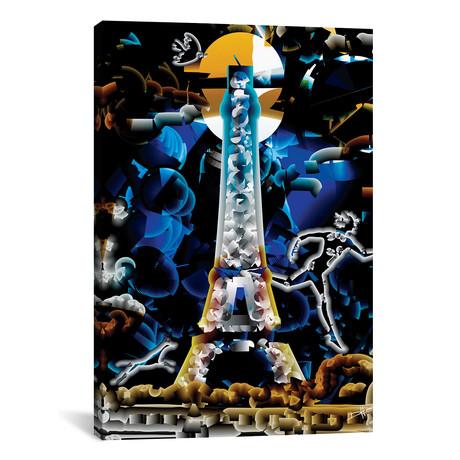 """Minuit Paris (26""""W x 18""""H x 0.75""""D)"""