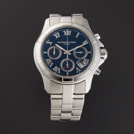 Raymond Weil Parsifal Chronograph Automatic // 7260-ST-00208 // Store Display