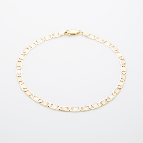 3.5mm Diamond Cut Celestial Chain Bracelet