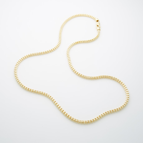 "Cylandro Necklace // 3.5mm (22"")"