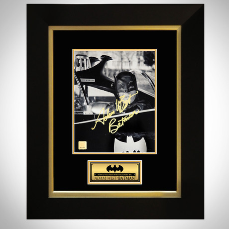 Batman // Adam West Signed Photo // Custom Frame