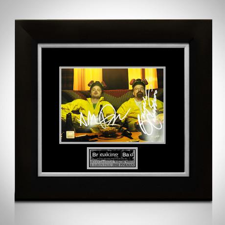 Breaking Bad // Walter White + Jesse Pinkman Signed Photo // Custom Frame