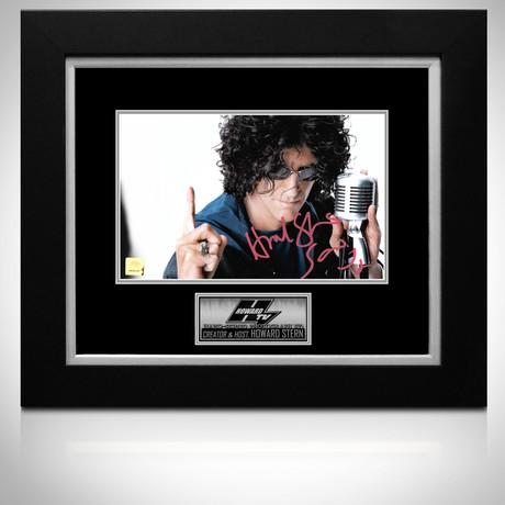 Howard Stern // Signed Photo // Custom Frame