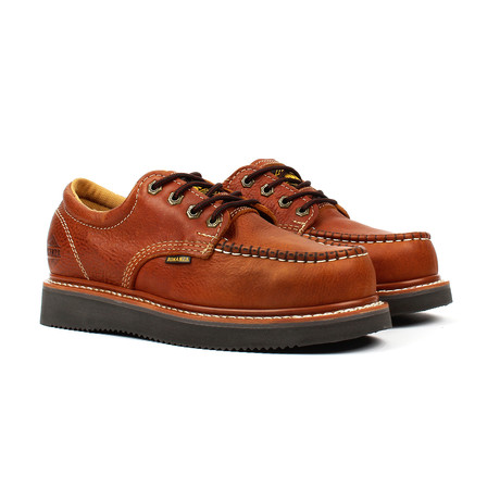 Moc-Toe Oxford Work Shoes // Light Brown (US: 5)