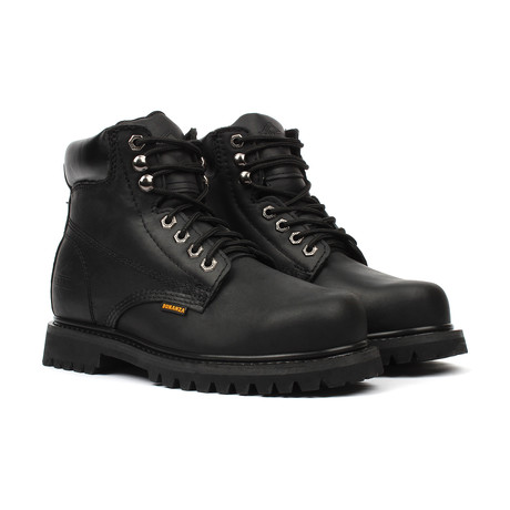 Plain Toe Boots // Black (US: 5)