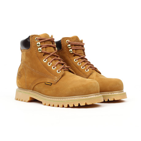 Plain Toe Boots // Tan (US: 5)