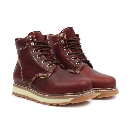 Work Boot // Burgundy