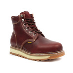 Dylan Work Boots // Burgundy (US: 6.5)