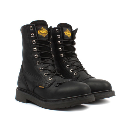 Kiltie Work Boots // Black (US: 5)