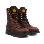 Kiltie Work Boots // Brown (US: 8.5)
