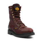 Kiltie Work Boots // Brown (US: 7)