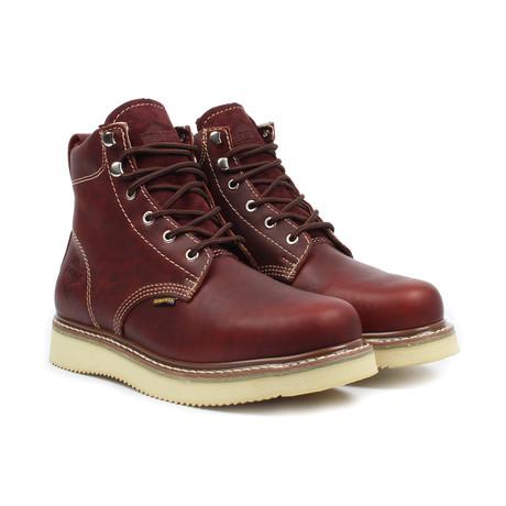 Joseph Work Boots // Burgundy (US: 5)
