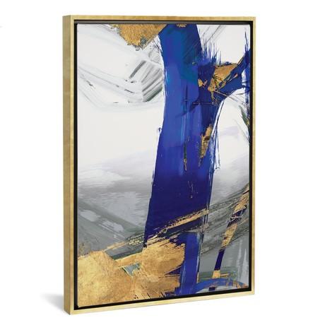 Indigo Abstract IV // PI Galerie