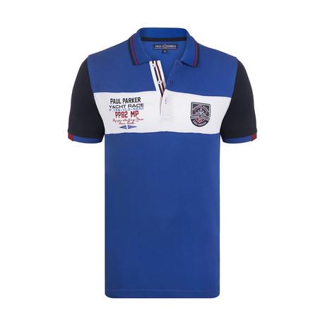 Wainscott Polo Shirt SS // Sax