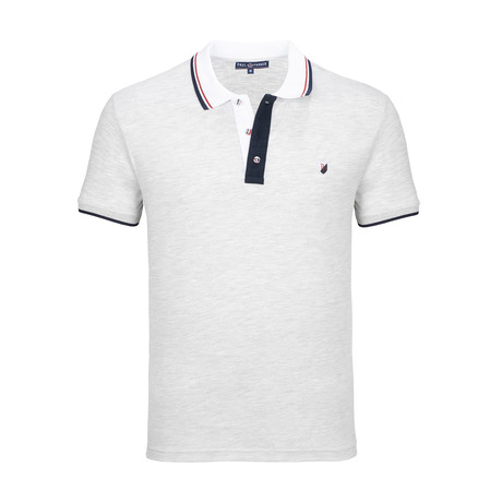 Des Moines Short Sleeve Polo Shirt // Gray Melange (S)