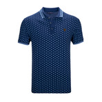 Saint Paul Short Sleeve Polo Shirt // Marine Blue (S)