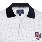 Marshall Short Sleeve Polo Shirt // White (S)