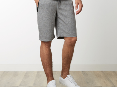Photo of Ethan Williams Comfy Shorts Zipper Pocket Sweatshorts // Heather Gray (M) by Touch Of Modern