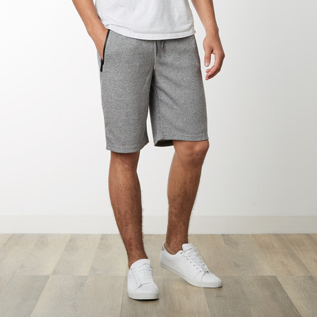 Zipper Pocket Sweatshorts // Heather Gray (S)