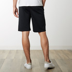 Zipper Pocket Sweatshorts // Black (L)