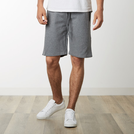 Tech Fleece High Grade Mesh Accent Shorts // Dark Gray (S)