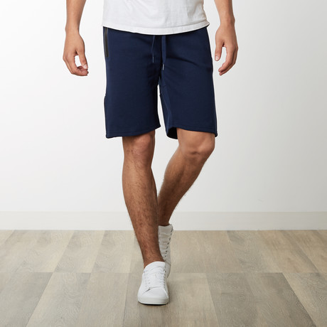 Tech Fleece High Grade Mesh Accent Shorts // Navy (S)
