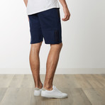 Tech Fleece High Grade Mesh Accent Shorts // Navy (L)