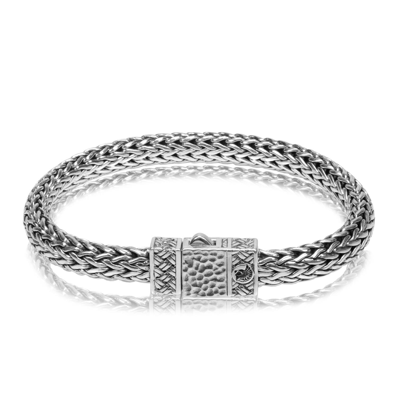 Classic Silver Chain Bracelet (Medium // 8