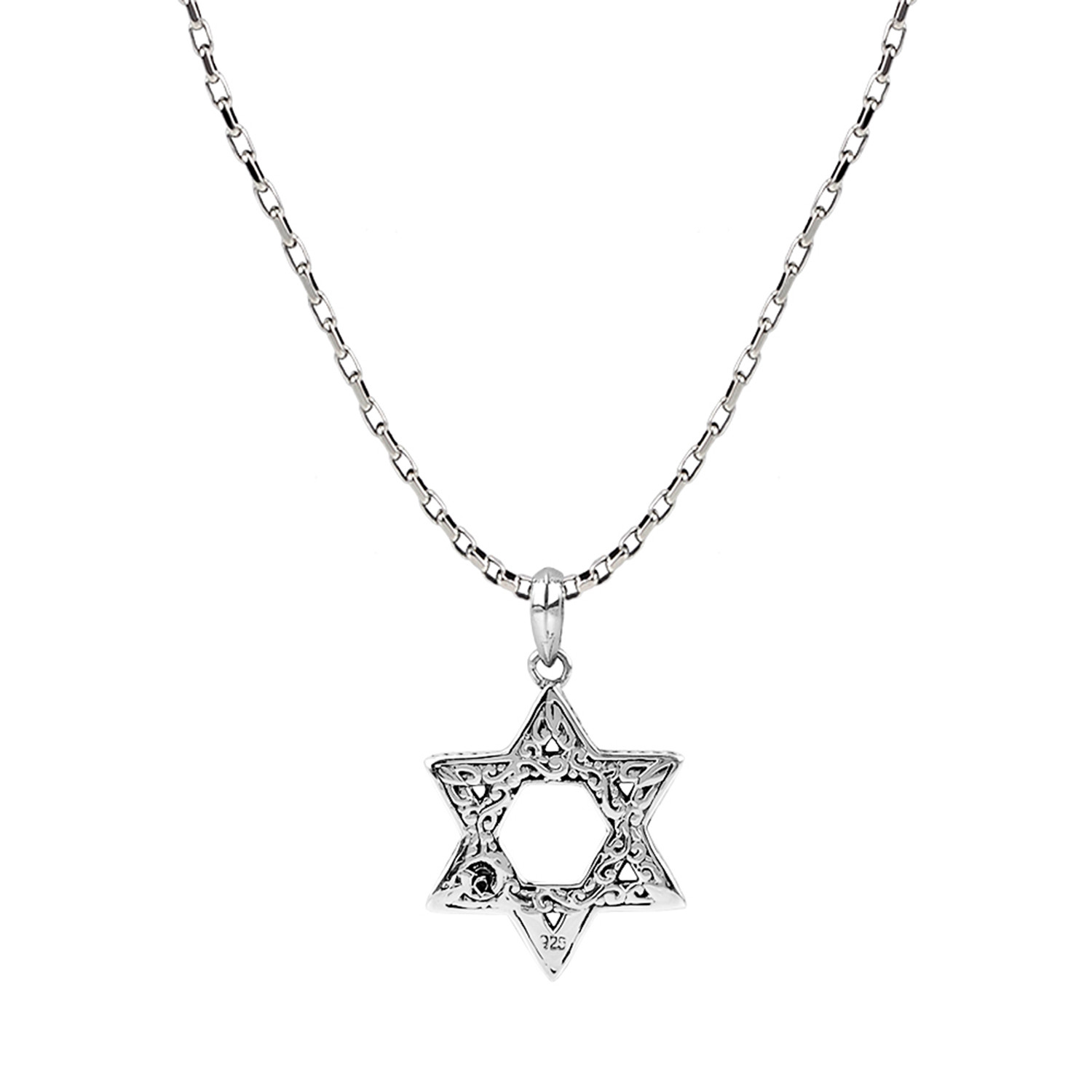 Star of david pendant chain 26 inch kainam touch of modern star of david pendant chain 26 inch mozeypictures Image collections