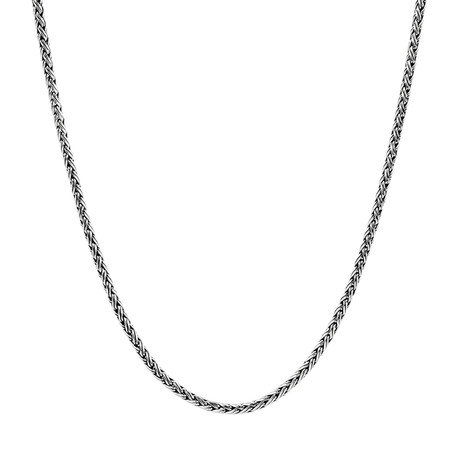 Contemporary Chain Necklace // 4mm (24 Inch)