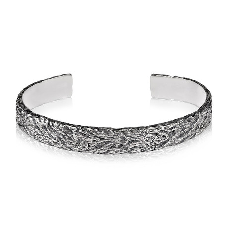 Tree Trunk Bangle (7 Inch)
