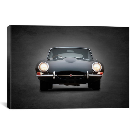 "Jaguar E-Type // Mark Rogan (18""W x 12""H x 0.75""D)"