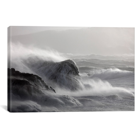 "Crashing Waves I // Gareth McCormack (26""W x 18""H x 0.75""D)"