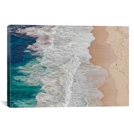 "Where The Ocean Ends... // Andreas Feldtkeller (18""W x 26""H x 0.75""D)"