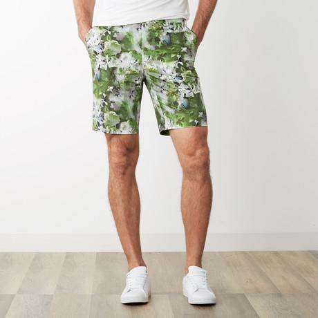 Attilio Bermuda Shorts // Flower Green (Euro: 46)
