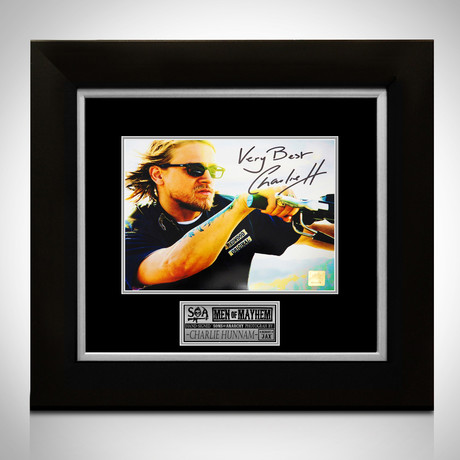 Sons Of Anarchy // Jax Teller Signed Photo // Custom Frame