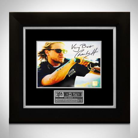 Sons Of Anarchy // Jax Teller Signed Photo // Custom Frame