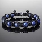 Sodalite Shamballa Bracelet (S)