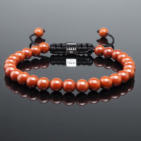 Minimal Red Jasper Bracelet (S)