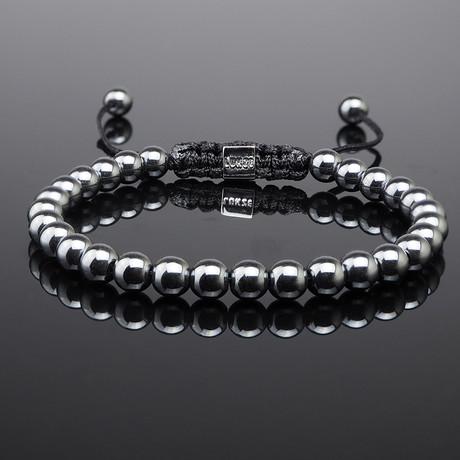 Minimal Hematite Bracelet (S)