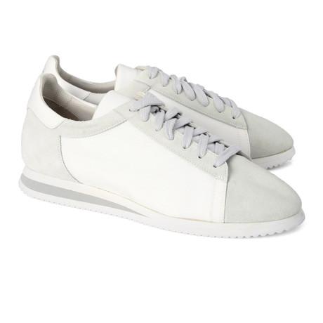 Men's Ciolino Sneaker // White + Gray (Euro: 39)